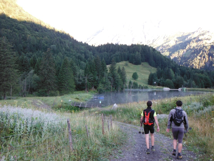 Il laghetto della Plochen Haus