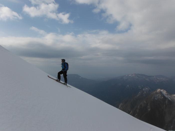Vista sulla Val D'arzino