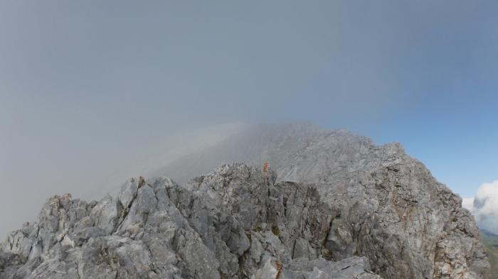 La cresta del Peralba
