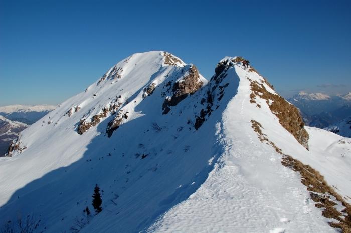Verso la punta del Lovinzola - Foto A. Cella