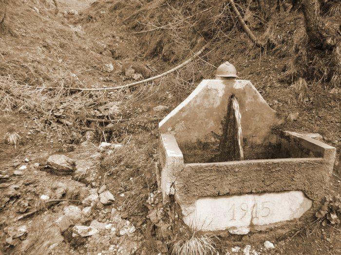 La fontana dell'alpino