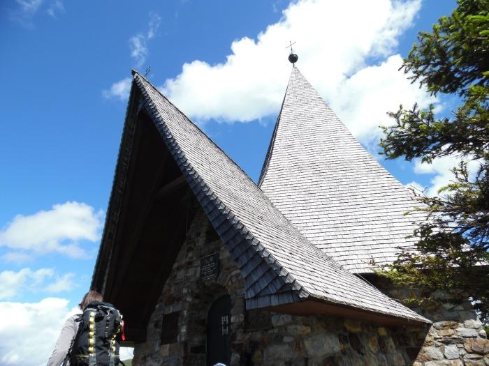La chiesetta dedicata ai caduti in guerra
