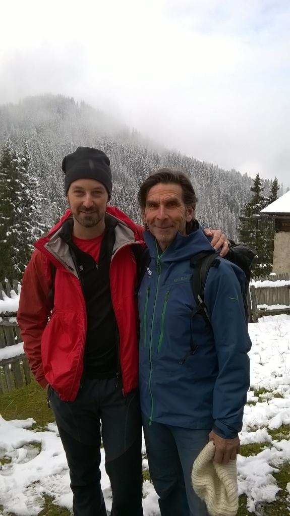 Con Hanspeter Eisandle
