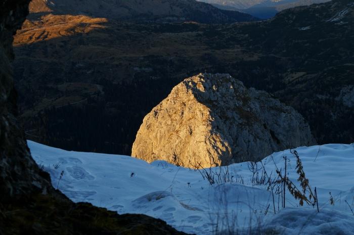 Il Zuc de la Guardia dal ricovero degli alpini