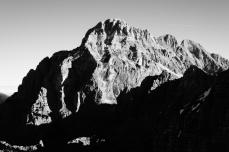 La parete Ovest del Montasio