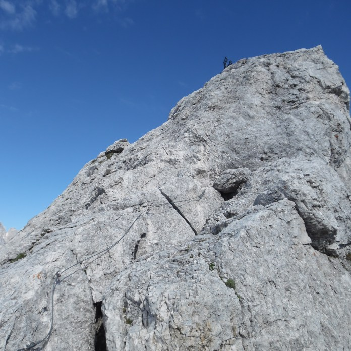 Ultimo tratto prima della cima