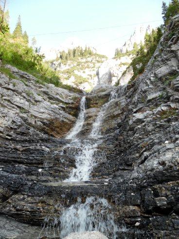 Cascatella nei pressi del De Gasperi