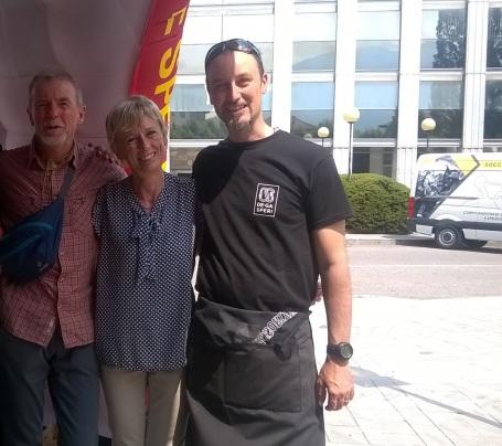 Con Nives Meroi e Romani Benet, coppia degli 8000